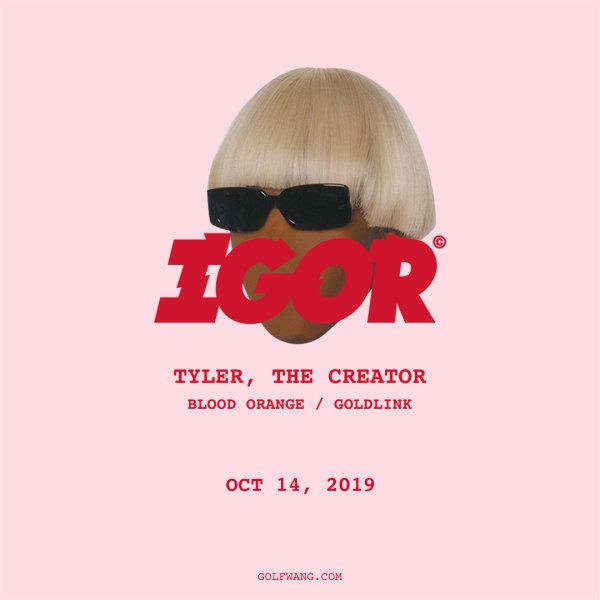 None -  Tyler, The Creator - 10/14 @ Veterans Memorial Coliseum