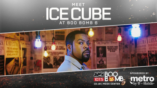 None - Meet Ice Cube @ Boo Bomb 6 w/ Metro by T-Mobile!