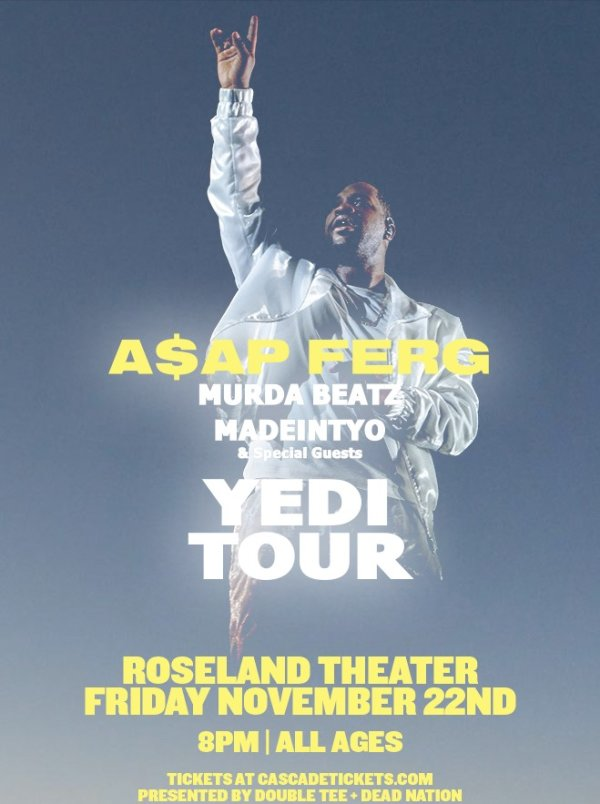None - A$AP FERG - 11/22 @ Roseland Theater