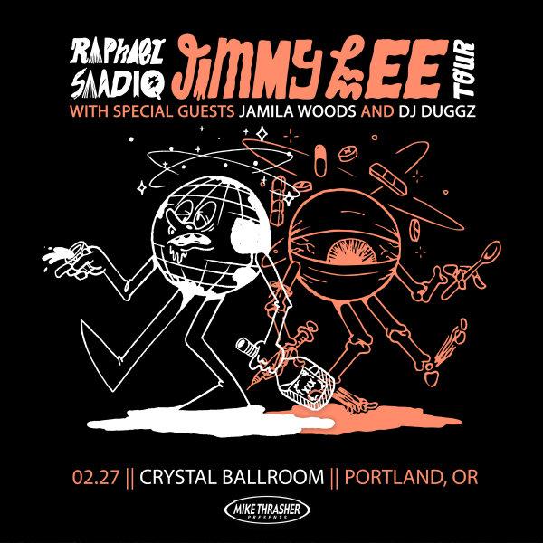 None - Raphael Saadiq - 2/27 @ McMenamins Crystal Ballroom