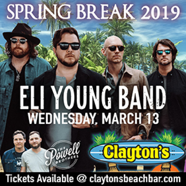 None - Register to win Eli Young Band Tickets!