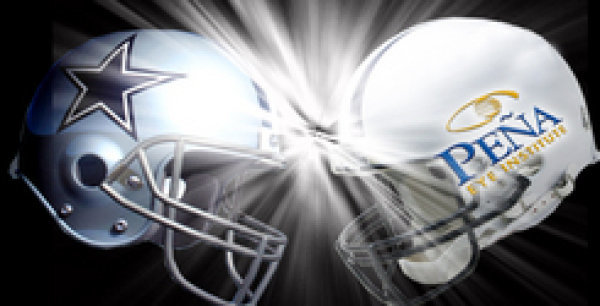 None - Be A Part of the DALLAS COWBOYS' Home Field Advantage Compliments of The Pena Eye Institute!   (clone)