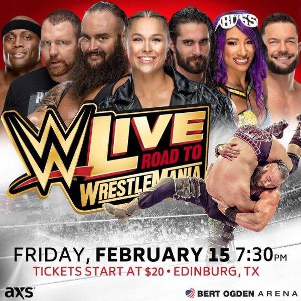 None - Register to win WWE Live Tickets!