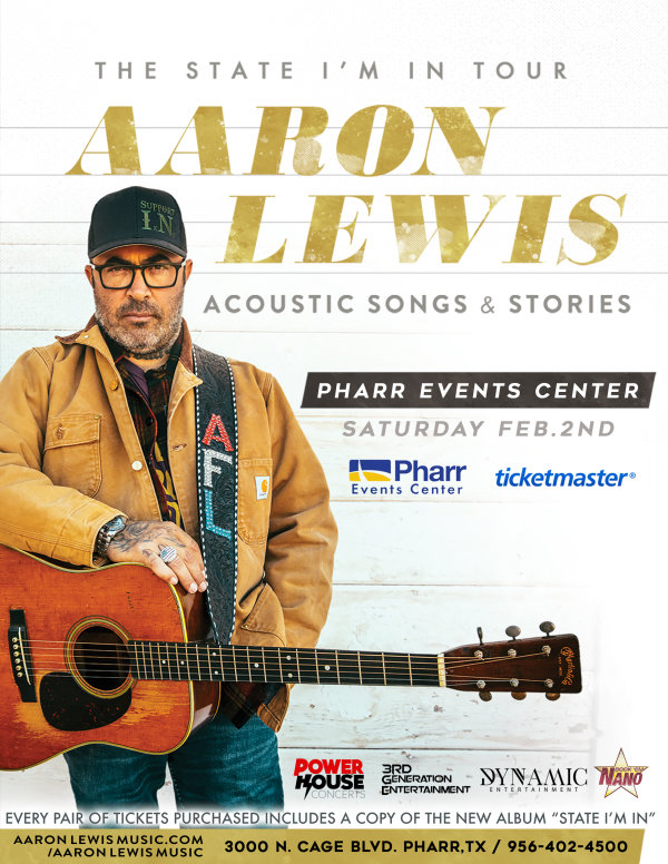 None - Register to win Aaron Lewis Tickets!
