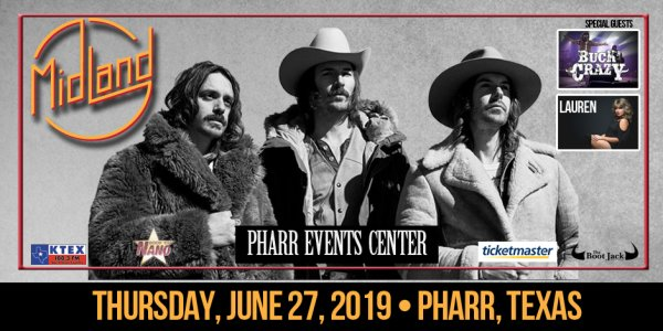None -  Midland June 27th at the Pharr Event Center