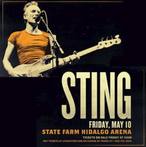 None - Send us your photo or video for your chance to win STING tickets!