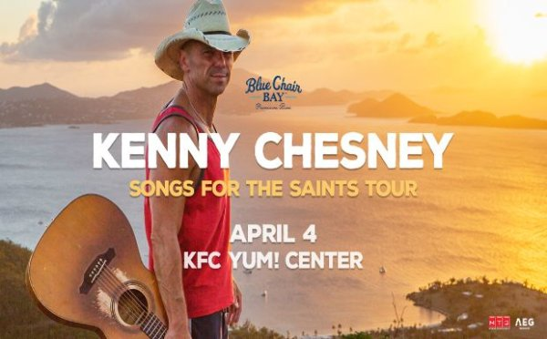 None - Kenny Chesney Online Ticket Giveaway!