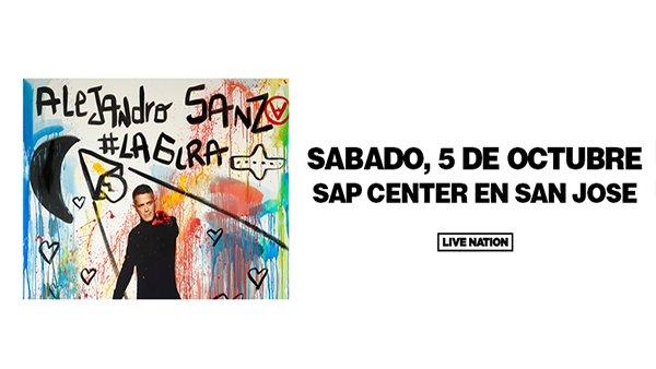 None - Alejandro Sanz Concierto en San Jose!
