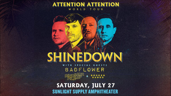 None - Shinedown - 7/27 @ Sunlight Supply Amphitheater