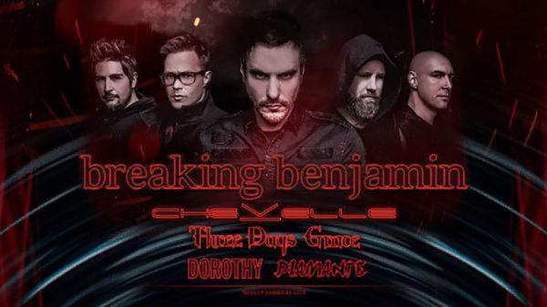 None - Breaking Benjamin, Chevelle, and Three Days Grace - 9/21