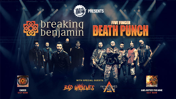 None - Breaking Benjamin & Five Finger Death Punch - 11/15 @ Veterans Memorial Coliseum