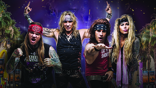 None - STEEL PANTHER - 105.9 The Brew Year's Eve Party