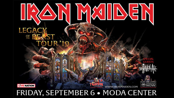 None - Iron Maiden - 9/6/19 @ The Moda Center