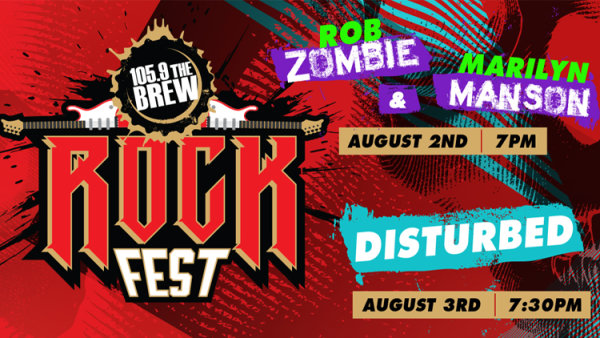 None -   ROCK FEST w/ Disturbed, Zombie + Manson