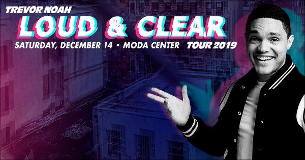 None - Trevor Noah - 12/14 @ Moda Center