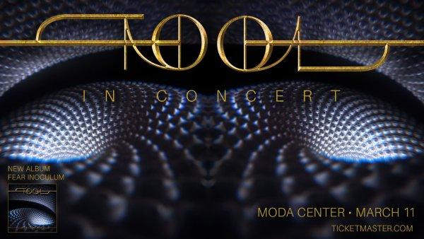 None - Tool - 3/11 @ Moda Center