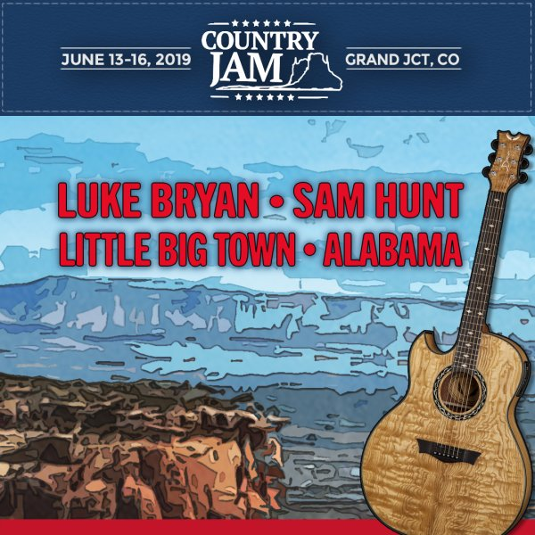 None - Win Tickets to Country Jam 2019!!