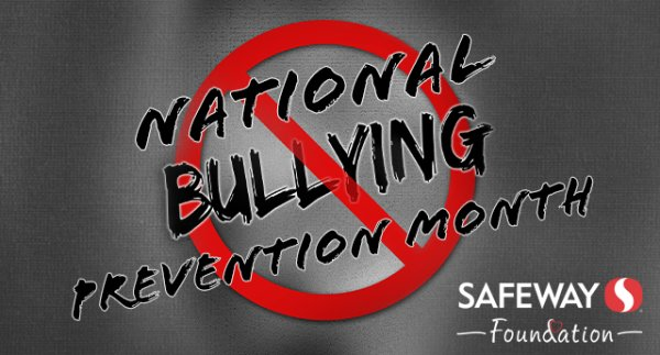 None - National Bullying Prevention Month