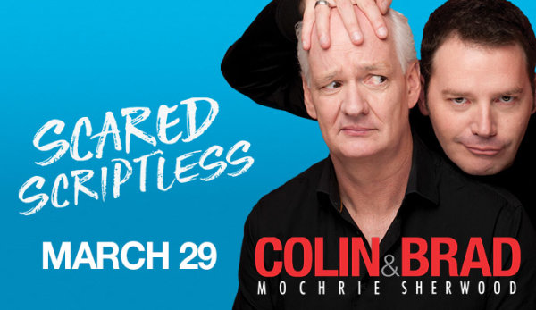 None - Win Tickets To Colin & Brad!