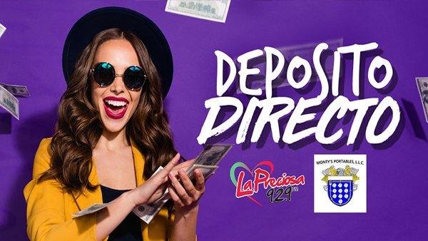 None - Deposito Directo!