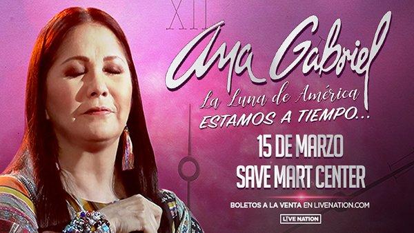 None - ¡Gana Tus Boletos Para Ver A Ana Gabriel!