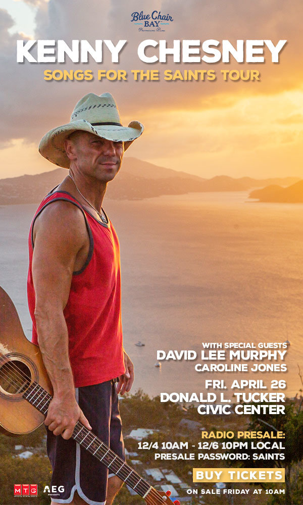 None - Kenny Chesney's Songs for the Saints Tour!