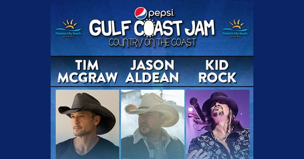 None - Win a Sunday meet and greet pack to Gulf Coast Jam!