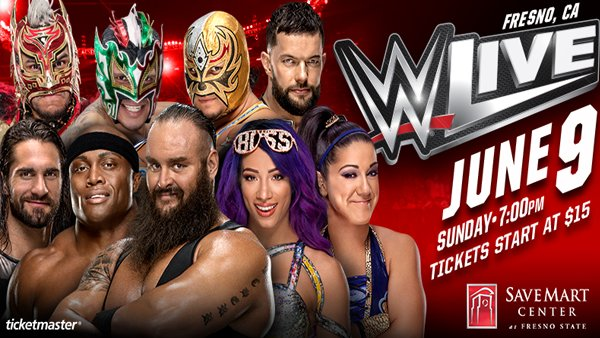None - WWE LIVE at the Save Mart Center