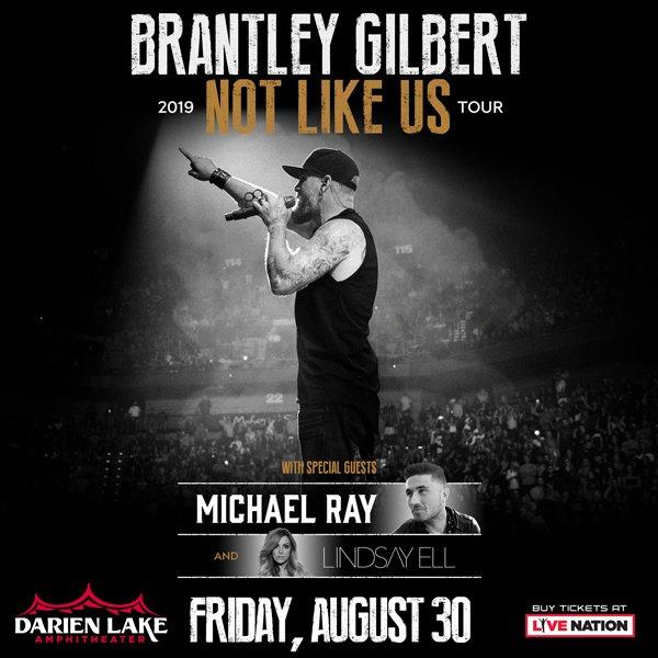 None - Win Tickets to Brantley Gilbert at Darien Lake!