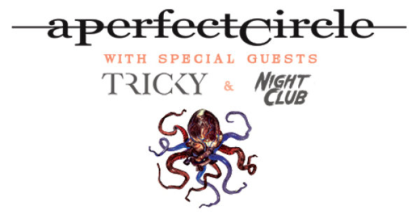 None - Win tickets to see A Perfect Circle in Charlotte!