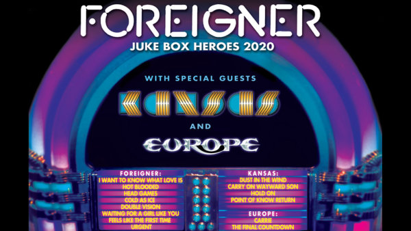 None - Score tickets to see Foreigner!