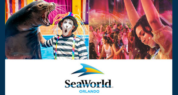 None - Experience the all new SeaWorld® Electric Ocean Spectacular