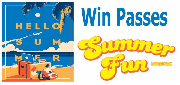 None - YOU COULD WIN FAMILY ADMISSION TO SUMMER FUN WATER PARK IN BELTON THIS SUMMER FROM BIG 95 KBGO