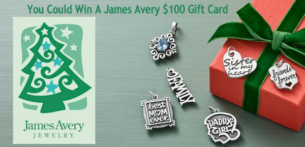 None - Enter to win a $100 holiday gift card from James Avery!