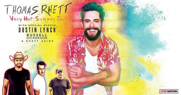 None - Thomas Rhett's 'Very Hot Summer Tour'