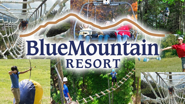 None - Tackle the Blue Mountain Aerial Course with B104 & WZZO!
