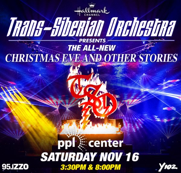 None - Win Tickets To Trans-Siberian Orchestra at PPL Center!