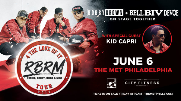 None -  Win Tickets to see RBRM: 4 The Love of It Tour at the Met Philly on June 6th!