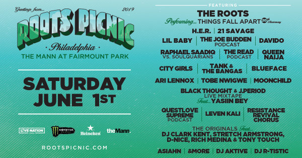 None -   Win Tickets to see Roots Picnic @ the Mann Philadelphia on June 1st!