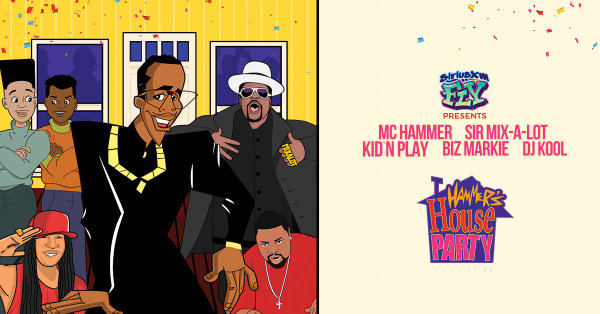 None -   Win Upfront Tickets to Hammer's House Party @ The Mann on August 17th!