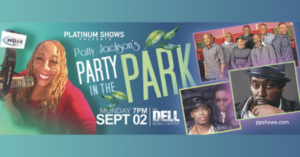 None - Wix Tix to Patty Jackson's Party in the Park at the Dell Music Center!