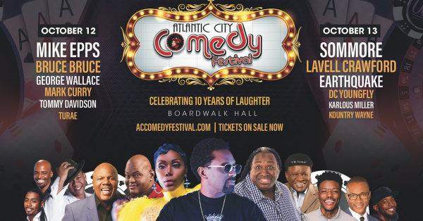 None - Win Tix to the Atlantic City Comedy Fest!