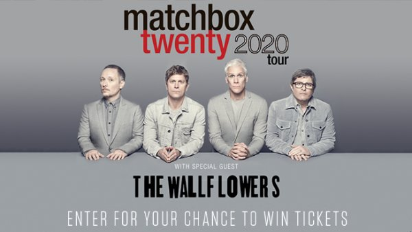 None - Win Tickets To See Matchbox Twenty at the Walmart AMP!