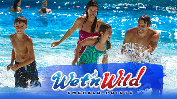 Wet'n Wild Emerald Pointe 2018 Passes