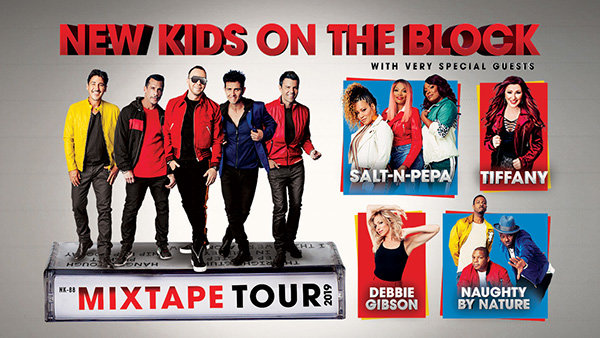 None -  New Kids On The Block The MixTape Tour