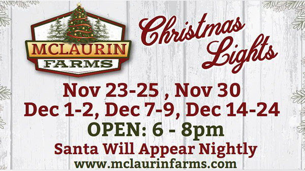None -  McLaurin Farms Christmas Lights