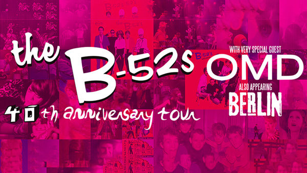 None - The B-52s 40th Anniversary Tour Tickets