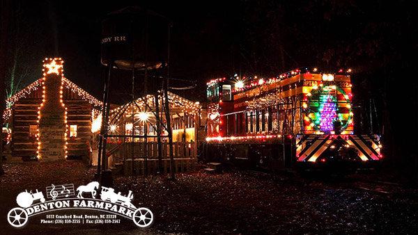 None - Denton Farmpark's Country Christmas Train
