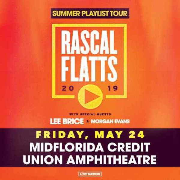 None - Win Tickets to Rascal Flats May 24th
