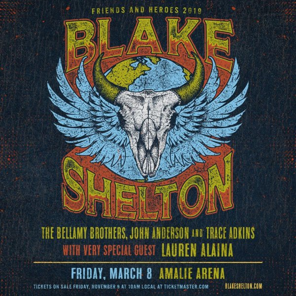 None - Blake Shelton: Friends and Heroes 2019 Tour
